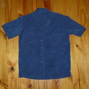 Men's Short Sleeve Casual Button Up